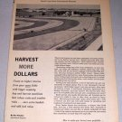 1961 International Harvester Tractors 12 Page Print Ad