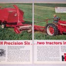 1959 IH International Harvester Farmall 460 Tractor 2 Page Print Ad