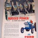 1965 Ford Farm Tractor Crankshaft Color Print Ad