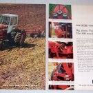 1966 International Harvester 806D Farm Tractor 2 Page Color Print Ad