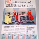 1960 Frigidaire Electric Range Ovens Models RCI-39-60 RCI-75-60 Color Print Ad