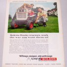 1968 Bolens Husky 1050 Lawn Tractor Color Print Ad Golf Celebrity Arnold Palmer