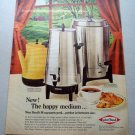 1969 West Bend Coffee Maker Color Print Ad