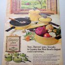 1969 West Bend Country Inn Cookware Pots Skillet Color Print Ad