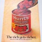 1969 Hunt's Tomato Sauce Color Print Ad