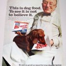 1969 Ken L Ration Special Cuts for Dogs Color Print Ad