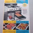1959 Hardwick MicroRay Gas Range Color Print Ad