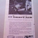 1960 FMC Orbit-Air Lawn Mower Print Ad