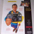 1998 Pentax IQZoom Camera Color Print Ad