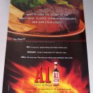 1998 A1 Sweet Tangy Steak Sauce Color Print Ad