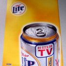 1998 Miller Lite Beer Color Print Ad - As Seen On TV