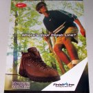 1998 Finish Line NIKE ACG Gimli Shoes Color Print Ad