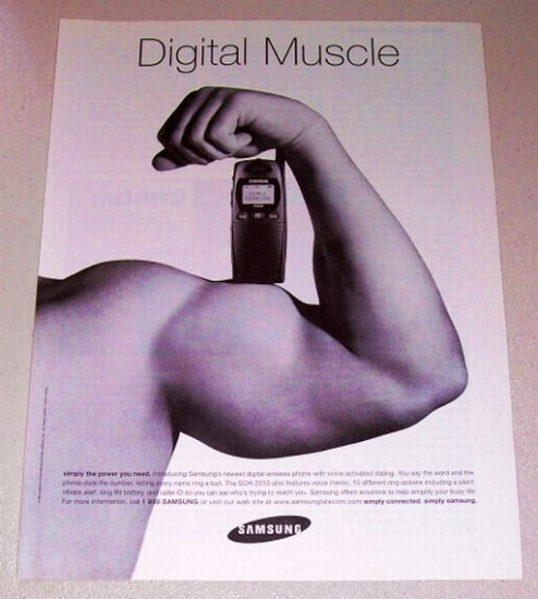 1998 Samsung SCH-2010 Digital Wireless Phone Print Ad