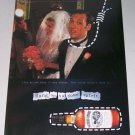 1998 Southern Comfort Whiskey Wedding Theme Color Print Ad