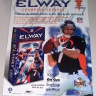 1998 John ELWAY Champion Forever Collectible DVD Color Print Ad