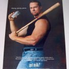 1998 GOT MILK Color Print Ad Celebrity Cardinals Baseball Mark Mcgwire