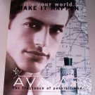 1998 AVATAR Cologne Spray Color Print Ad