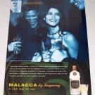1998 Tanqueray Malacca Gin Color Print Liquor Ad