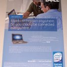 2007 Dell Latitude 630 Notebook Laptop Color Print Computer Ad