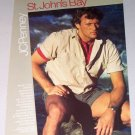 1987 JC Penny St John's Bay Classic Camp Shirt Color Print Clothing Ad