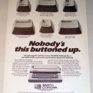 1987 Smith Corona XD 8000 Typewriter Print Ad