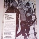 1987 America's Life Health Insurance Companies Fishing Print Ad