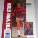 1987 Mennen Speed Stick Anti-Perspirant Deodorant Color Print Ad