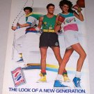 1987 Pepsi Cola Apparel Color Print Soda Ad