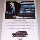 1995 Chevrolet Blazer SUV Color Print Truck Ad