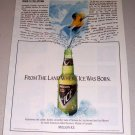 1995 Molson Ice Beer Color Print Brewery Ad