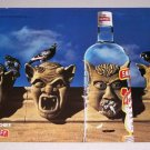 1995 Smirnoff Vodka Color Print Liquor Ad - Pure Mischief
