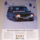 1995 Land Rover Discovery 4x4 SUV Color Print Truck Ad