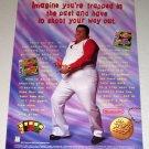 1995 Nintendo Gameboy Arcade Classics Color Print Ad