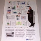 1995 Hewlett Packard HP LaserJet Printer Color Print Ad