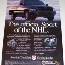 1995 Dodge Ram Sport Pickup Color Print Truck Ad