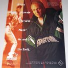 1995 Starter Outerwear Line-Up Jacket Color Print Ad Orioles MLB Baseball Celebrity Cal Ripkin