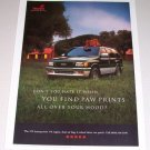 1995 ISUZU Rodeo SUV Color Print Ad