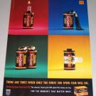 1995 Kodak Royal Gold 200 Camera Film Color Print Ad