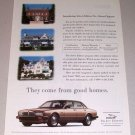 1995 Jaguar Select Edition Automobile Color Print Car Ad