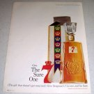 1964 Seagram's Seven 7 Crown Whiskey Color Liquor Ad
