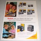1964 Kodak Cameras Color Photography Ad