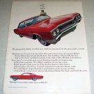 1964 Color Ad for 1965 Buick Wildcat Automobile