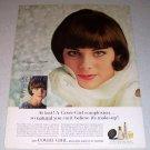 1964 Noxzema Cover Girl Make Up Color Ad Celebrity Alayne Joynes