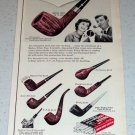 1964 Medico Filter Smoking Pipes Vintage Ad