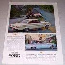 1963 Ford Falcon Fairlane Sport Coupe Automobiles Color Car Ad