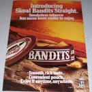 1986 Skoal Bandits Smokeless Tobacco Dip Color Ad