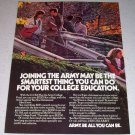 1986 ARMY Be All You Can Be Color Ad