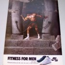 1986 NIKE Air The Rake Shoes Color Footwear Ad