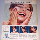 1963 Noxzema Skin Cream Color Print Ad