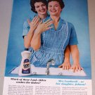 1962 Ivory Dish Liquid Johnna Lombardi Denver Colorado Color Print Ad
